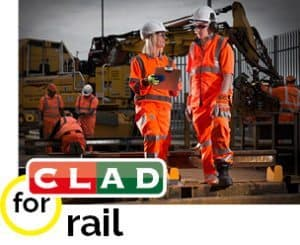 Clad for Rail Workwear Uniforms and PPE