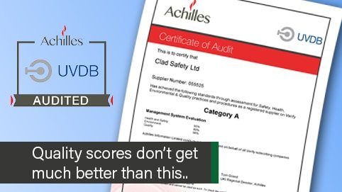Achilles Verify UK supplier for workwear and ppe to utilities industry