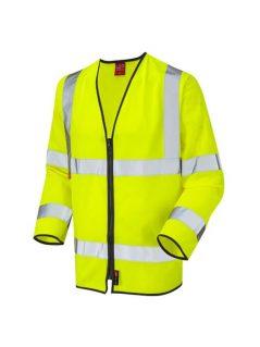 hi vis vest long sleeved flame retardant high visibility waistcoat
