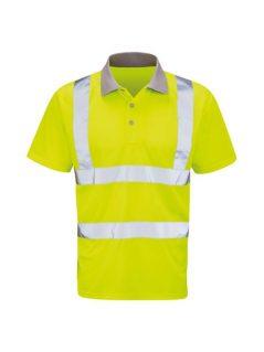 hi vis polo shirt high visibility workwear
