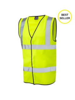 hi vis vest high visibility waistcoat workwear